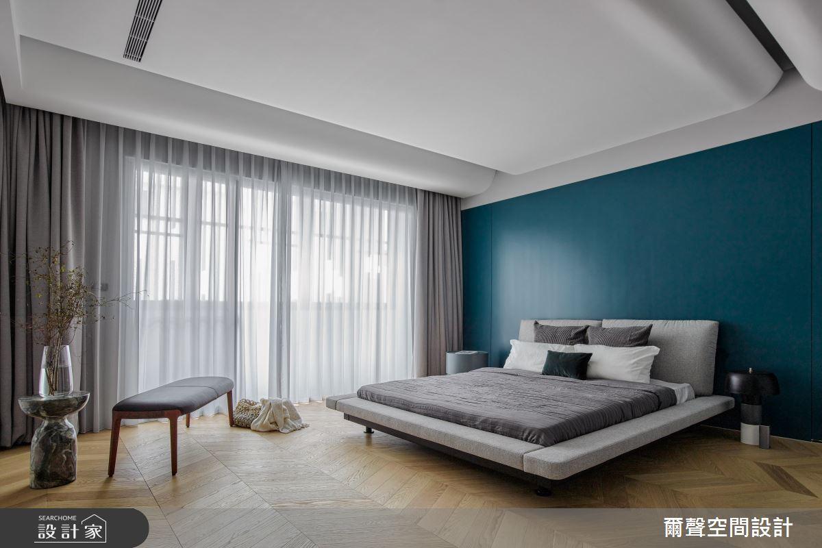 54坪新成屋(5年以下)_混搭風臥室案例圖片_爾聲空間設計_爾聲_House of Chiaroscuro 黑白切之18