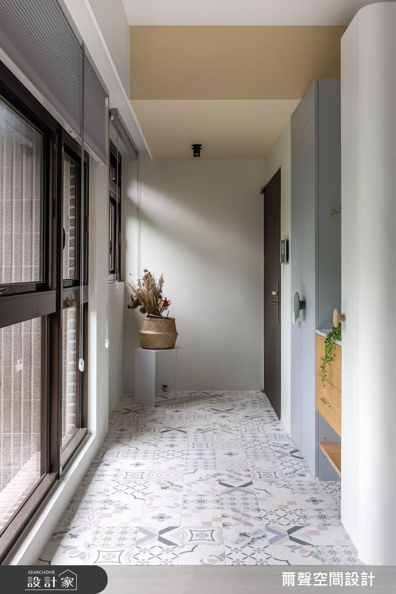 25坪預售屋_北歐風案例圖片_爾聲空間設計_爾聲_Misty Jade 朦朧玉葉之2