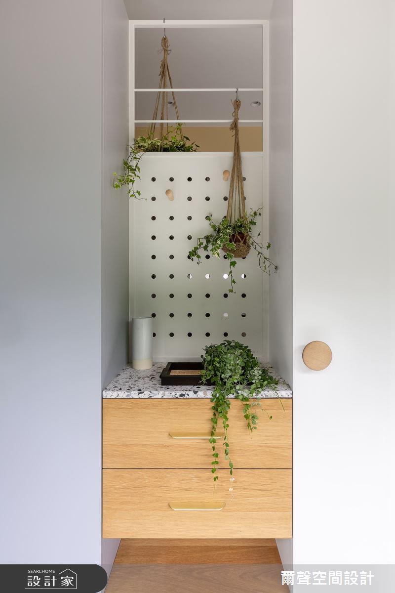25坪預售屋_北歐風案例圖片_爾聲空間設計_爾聲_Misty Jade 朦朧玉葉之4
