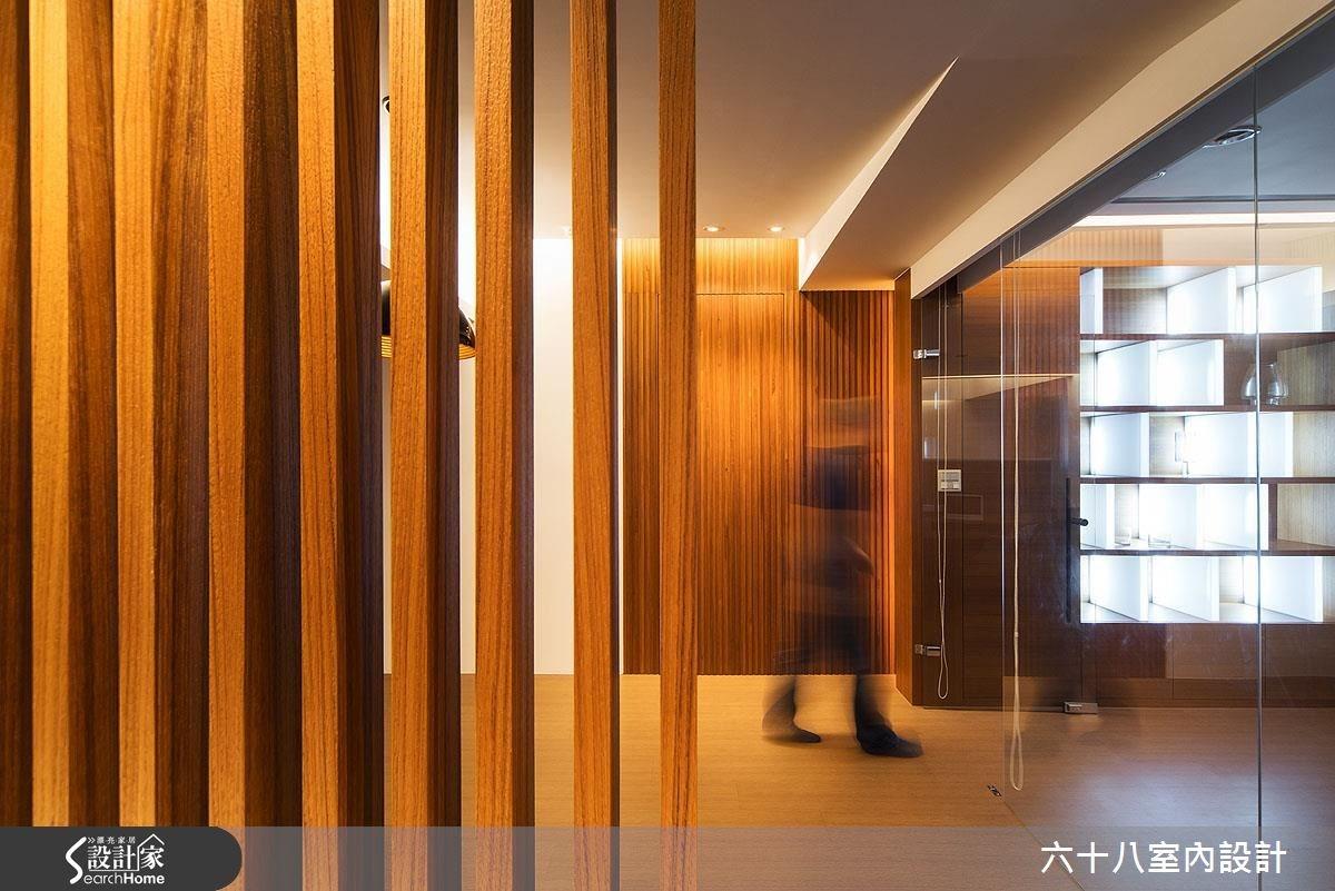 26坪中古屋(5~15年)_混搭風走廊案例圖片_六十八室內設計有限公司_六十八_04之2