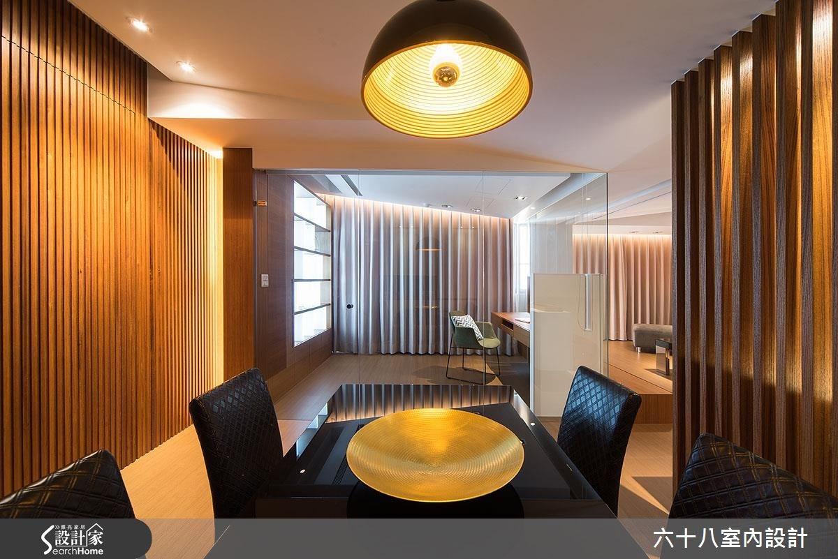 26坪中古屋(5~15年)_混搭風餐廳書房案例圖片_六十八室內設計有限公司_六十八_04之18