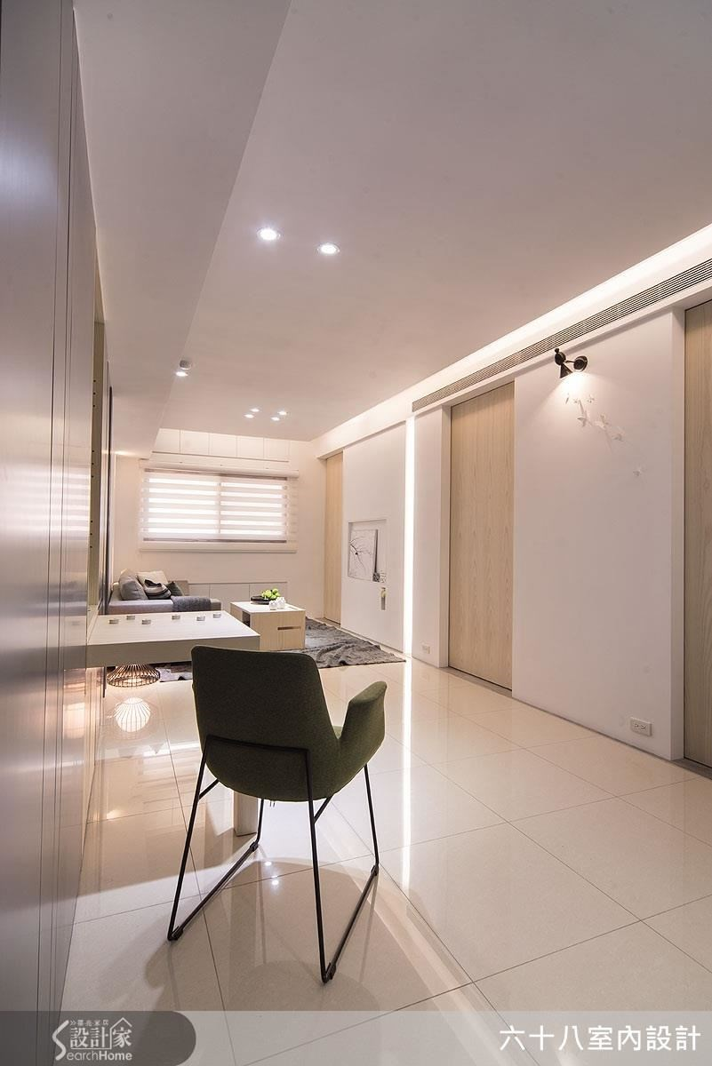 19坪新成屋(5年以下)_混搭風餐廳案例圖片_六十八室內設計有限公司_六十八_05之4