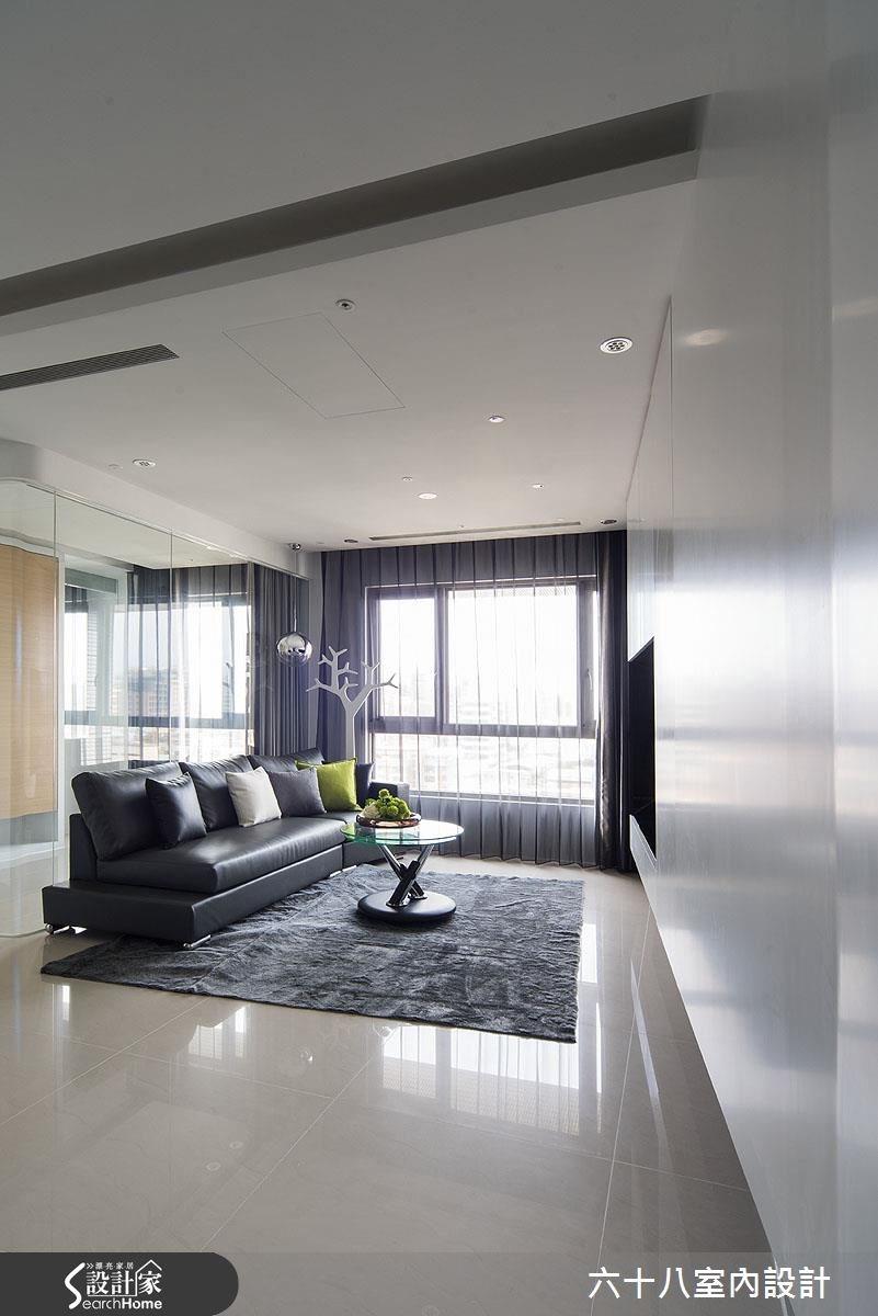 15坪預售屋_混搭風客廳案例圖片_六十八室內設計有限公司_六十八_06之2