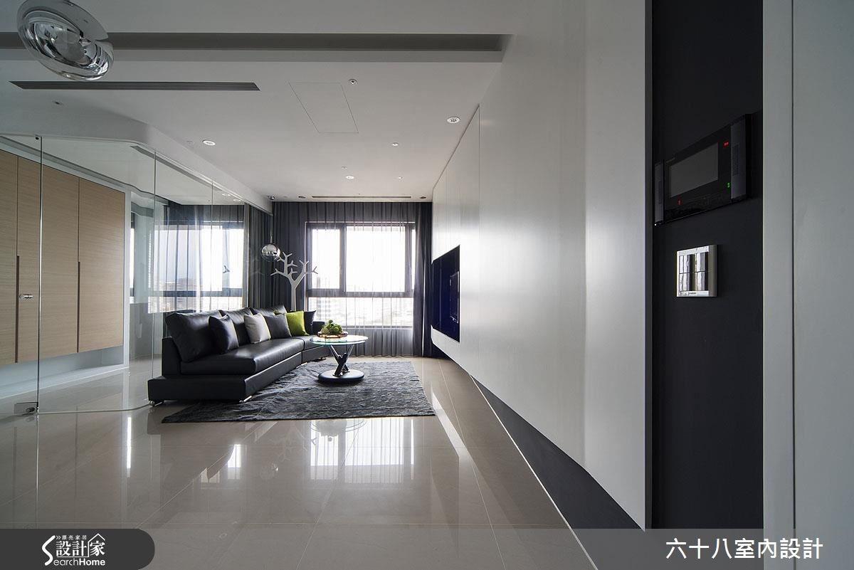 15坪預售屋_混搭風客廳案例圖片_六十八室內設計有限公司_六十八_06之3