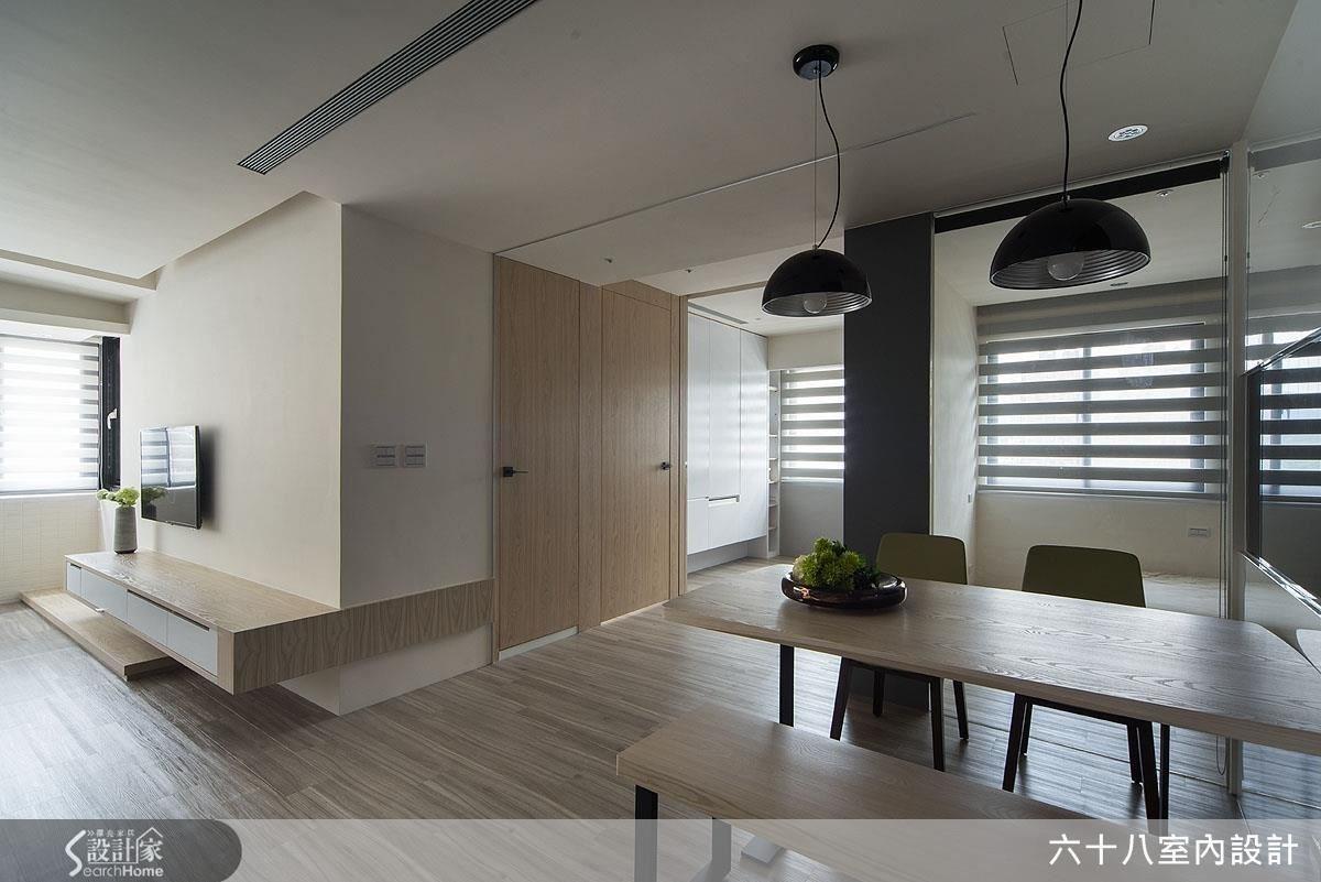 23坪老屋(16~30年)_混搭風案例圖片_六十八室內設計有限公司_六十八_07之3