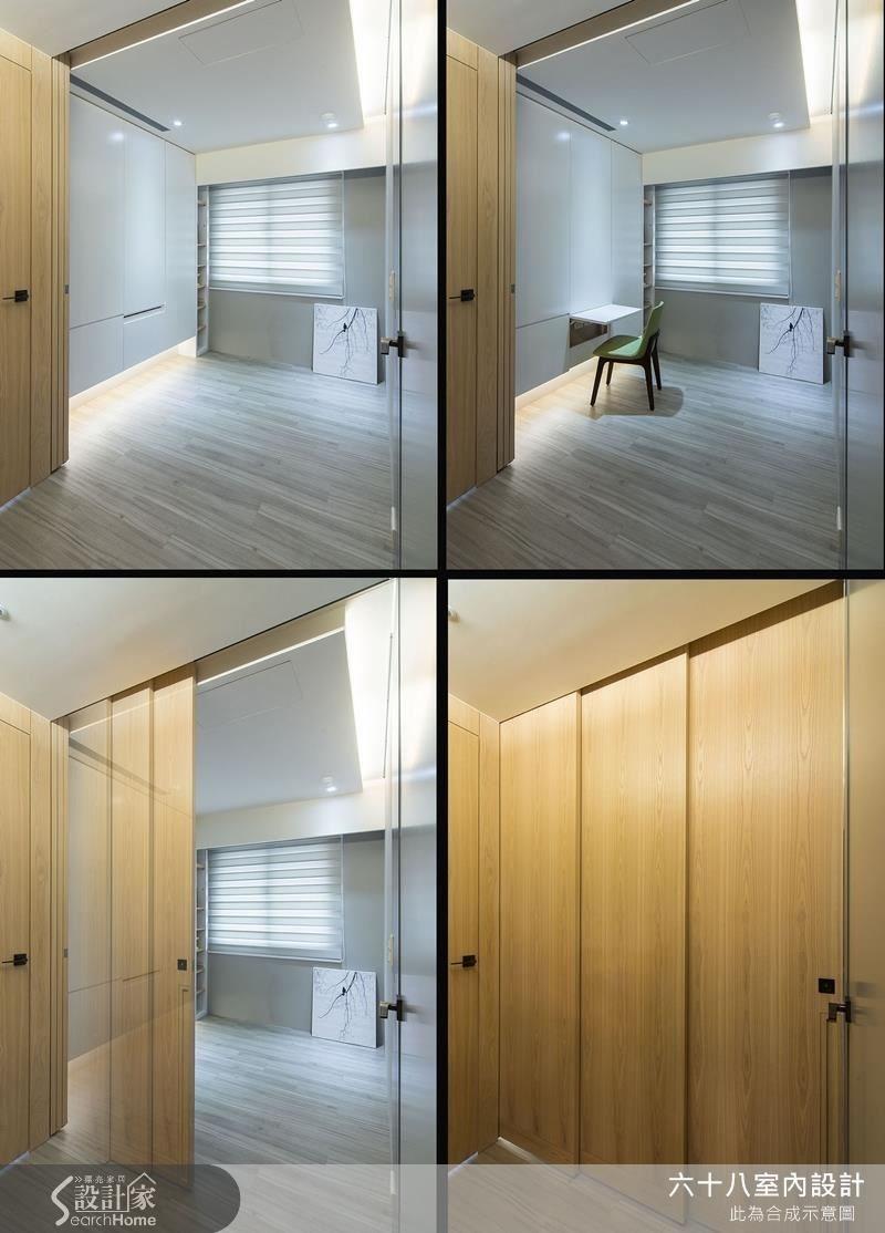 23坪老屋(16~30年)_混搭風案例圖片_六十八室內設計有限公司_六十八_07之17