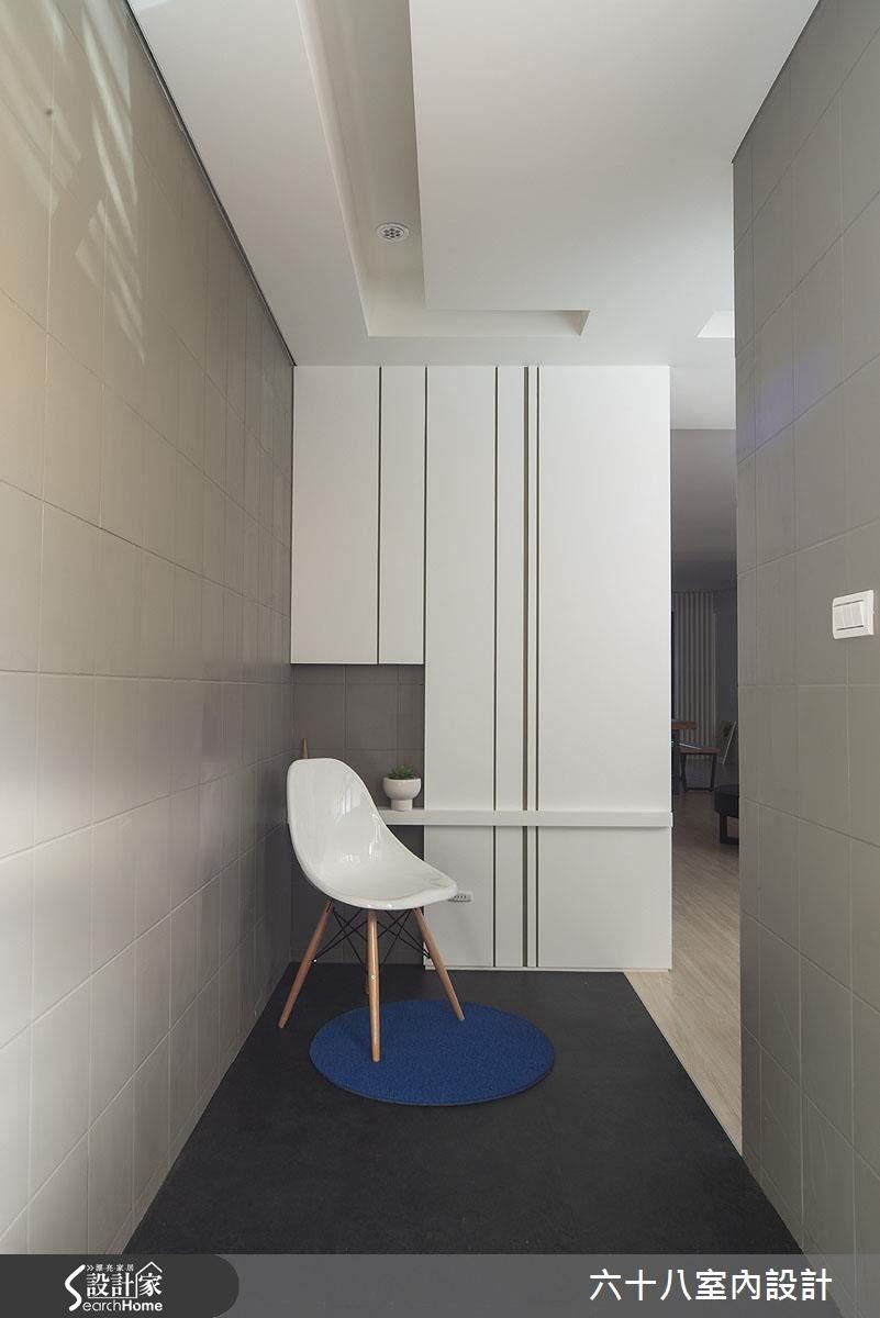 32坪中古屋(5~15年)_混搭風走廊案例圖片_六十八室內設計有限公司_六十八_08之1