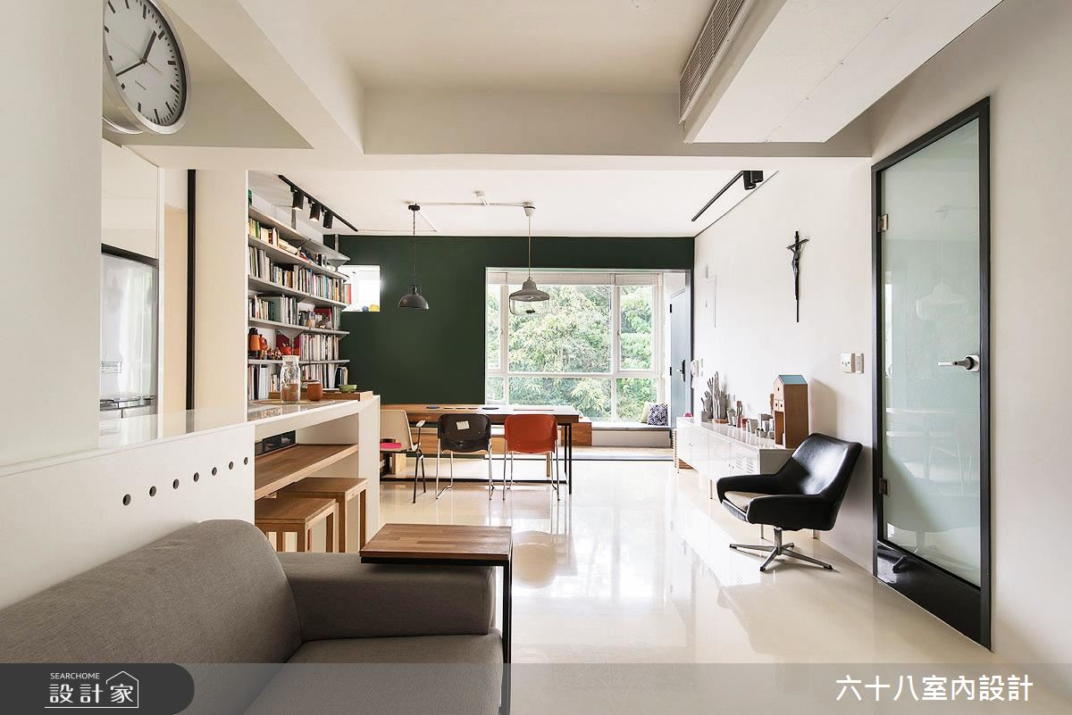 我們的自由年代!改造 26 坪舊公寓 享受舒適大空間感!