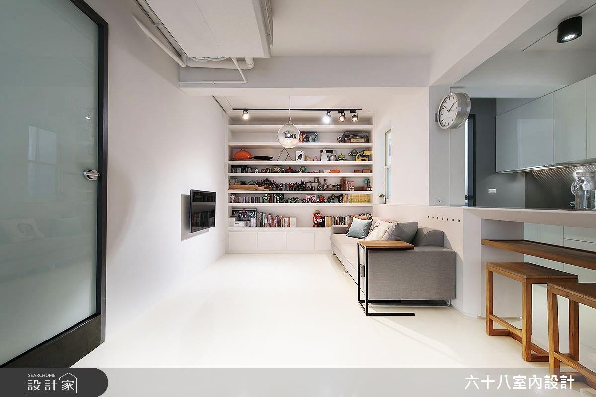 26坪老屋(16~30年)_北歐風案例圖片_六十八室內設計有限公司_六十八_15之3