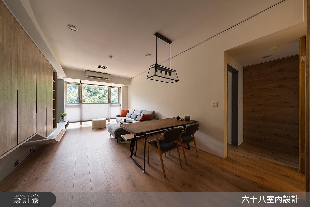 27坪中古屋(5~15年)_休閒風案例圖片_六十八室內設計有限公司_六十八_16之3