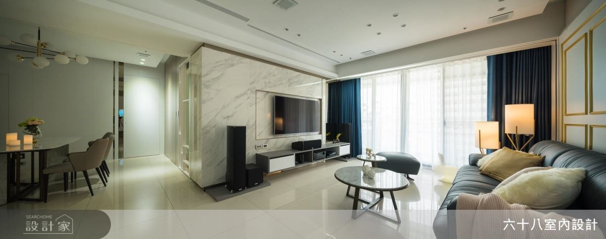 27坪新成屋(5年以下)_現代風案例圖片_六十八室內設計有限公司_六十八_20之2
