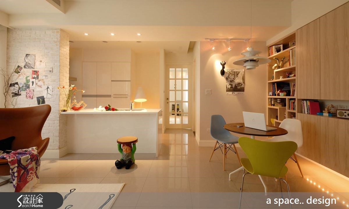 30坪新成屋(5年以下)_北歐風案例圖片_a space..design/一個空間設計_a space.._03之4