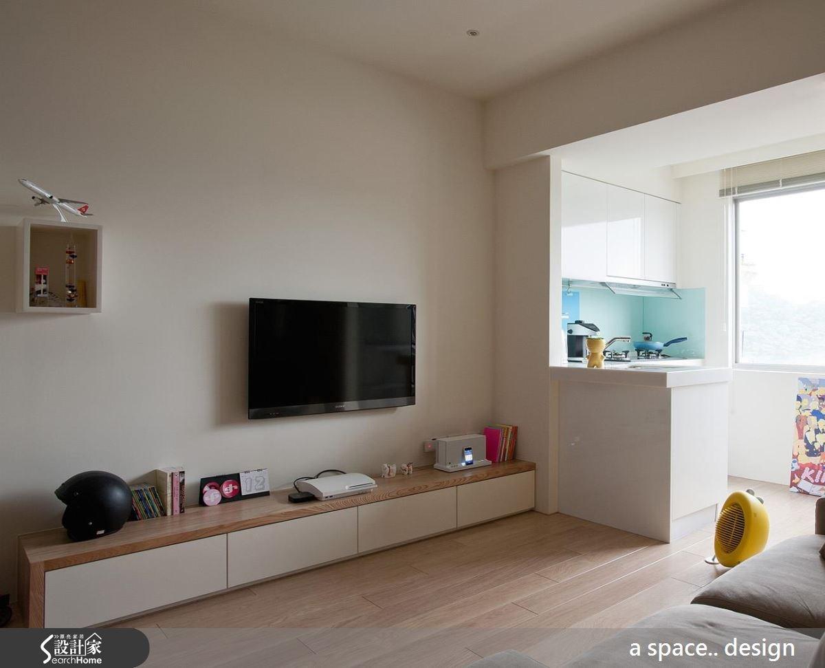 25坪新成屋(5年以下)_休閒風案例圖片_a space..design/一個空間設計_a space.._10之2