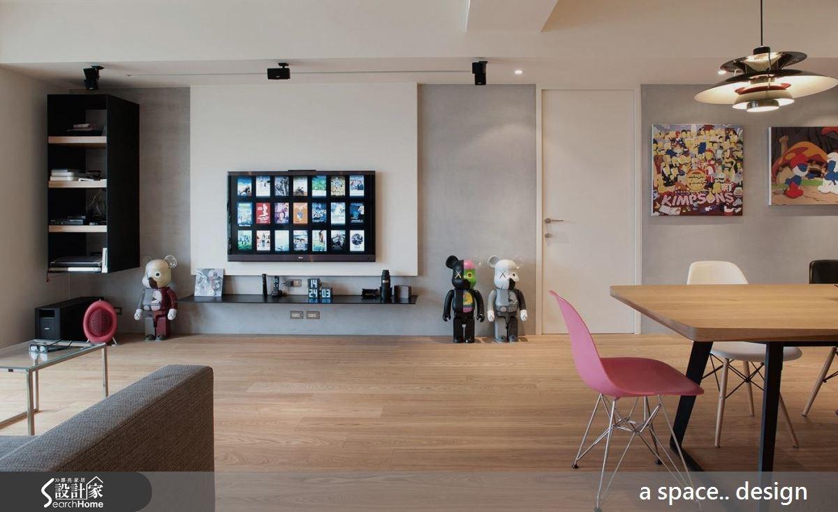 60坪新成屋(5年以下)_現代風案例圖片_a space..design/一個空間設計_a space.._12之3