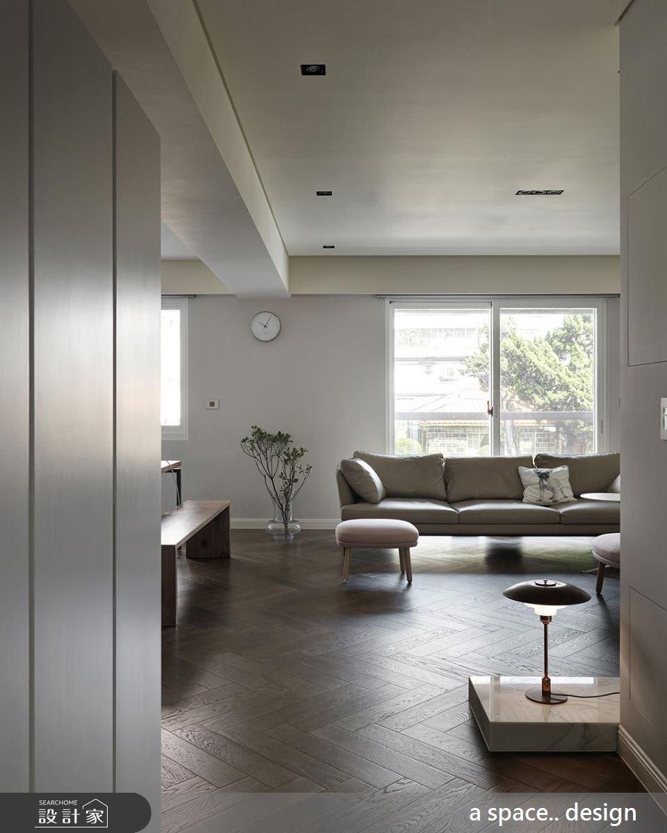50坪中古屋(5~15年)_現代風客廳案例圖片_a space..design/一個空間設計_a space.._18之3