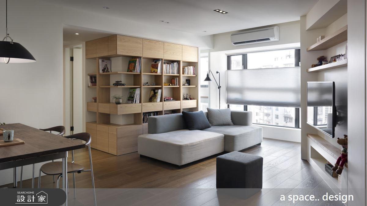 30坪老屋(16~30年)_現代風客廳案例圖片_a space..design/一個空間設計_a space.._19之2