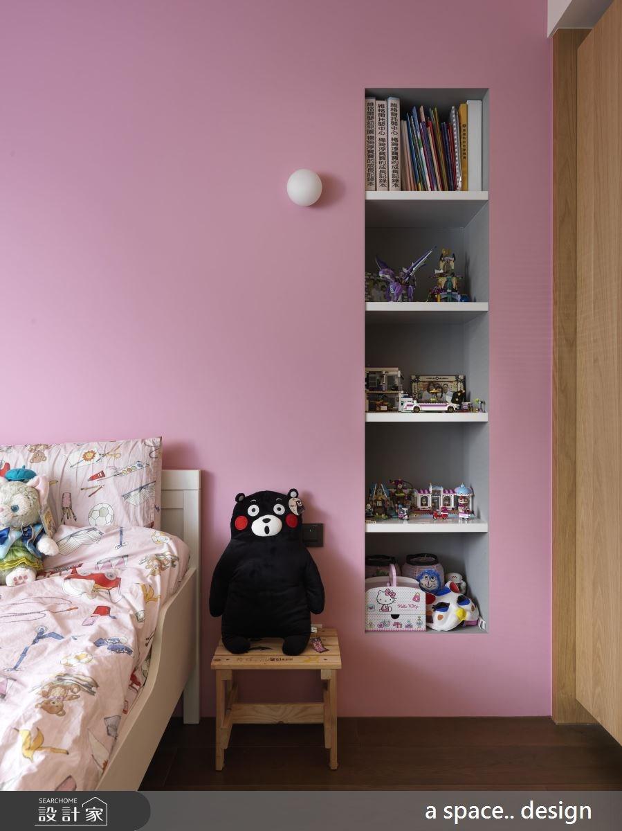 30坪老屋(16~30年)_現代風臥室案例圖片_a space..design/一個空間設計_a space.._19之23