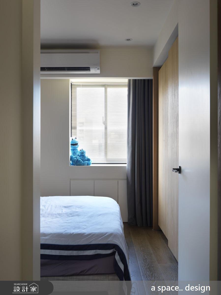 30坪老屋(16~30年)_現代風臥室案例圖片_a space..design/一個空間設計_a space.._19之24