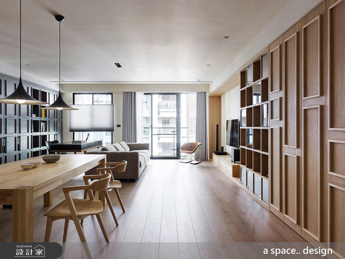 45坪新成屋(5年以下)_北歐風案例圖片_a space..design/一個空間設計_a space.._22之3