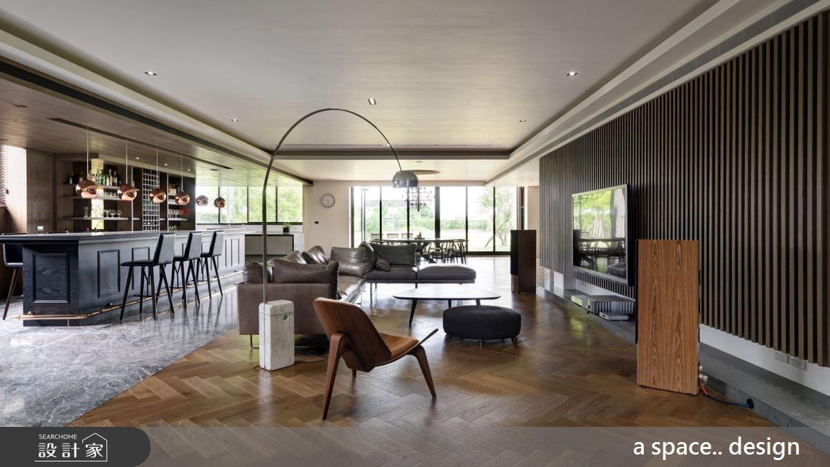 150坪_混搭風客廳案例圖片_a space..design/一個空間設計_a space.._23之1