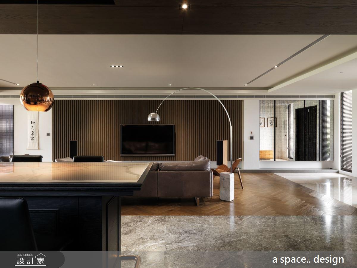 150坪_混搭風客廳吧檯案例圖片_a space..design/一個空間設計_a space.._23之2