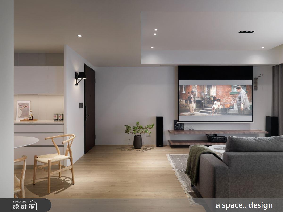 45坪新成屋(5年以下)_現代風客廳餐廳案例圖片_a space..design/一個空間設計_a space.._24之4