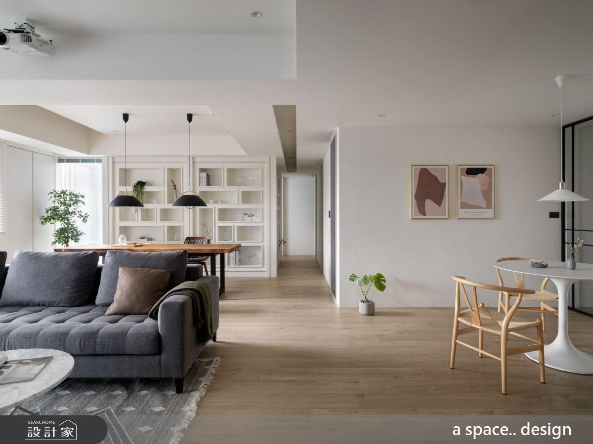45坪新成屋(5年以下)_現代風客廳案例圖片_a space..design/一個空間設計_a space.._24之3