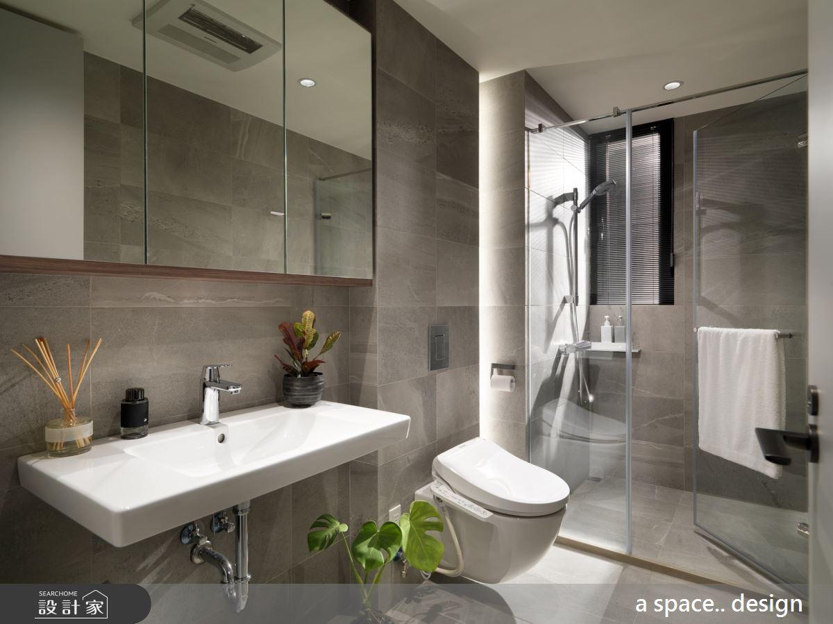45坪新成屋(5年以下)_現代風浴室案例圖片_a space..design/一個空間設計_a space.._24之21