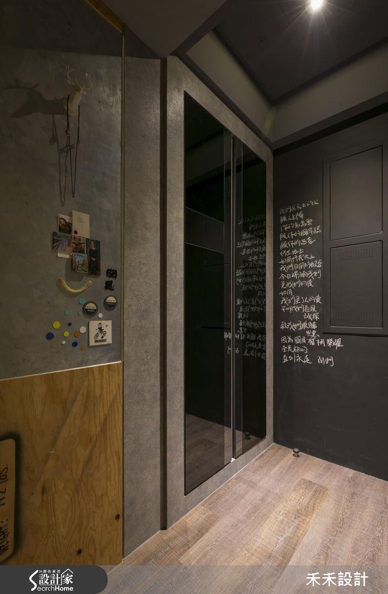 20坪新成屋(5年以下)_現代風玄關案例圖片_禾禾設計_禾禾_11之1