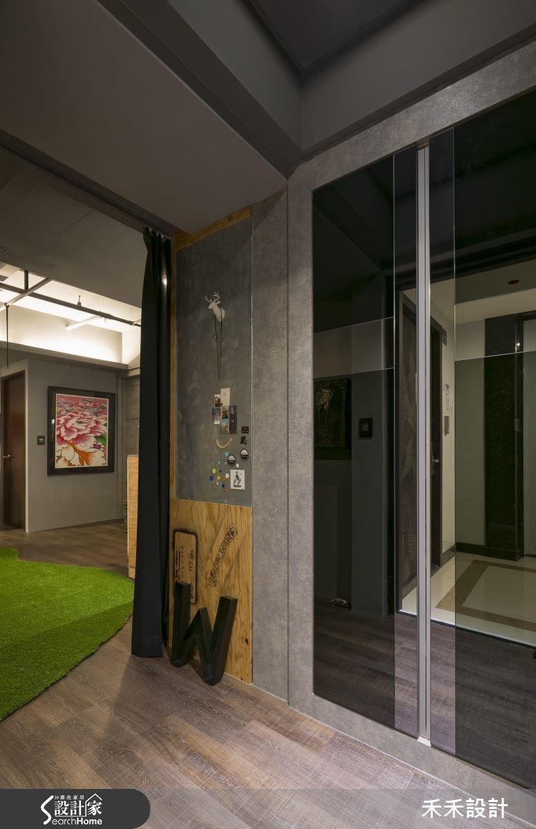20坪新成屋(5年以下)_現代風玄關案例圖片_禾禾設計_禾禾_11之2