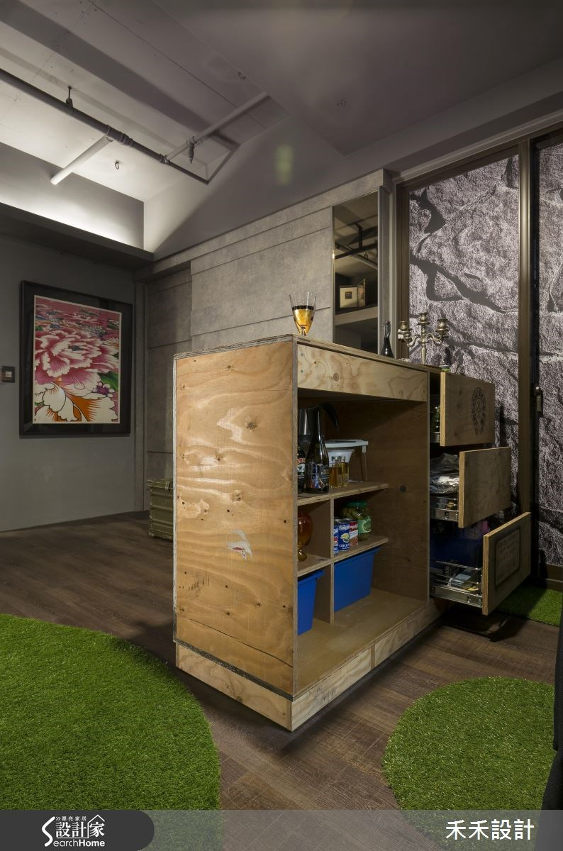 20坪新成屋(5年以下)_現代風吧檯案例圖片_禾禾設計_禾禾_11之4