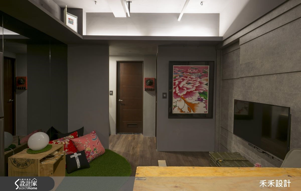 20坪新成屋(5年以下)_現代風客廳案例圖片_禾禾設計_禾禾_11之5