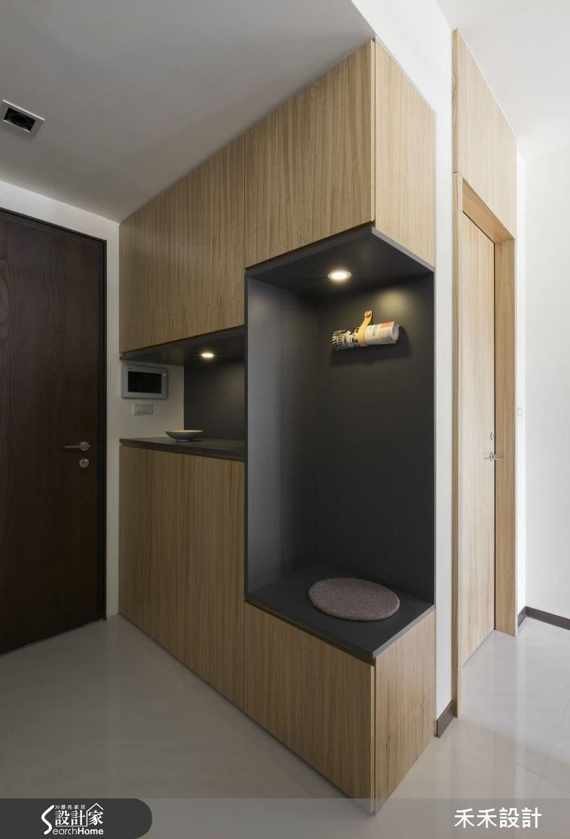 25坪新成屋(5年以下)_現代風玄關案例圖片_禾禾設計_禾禾_12之2