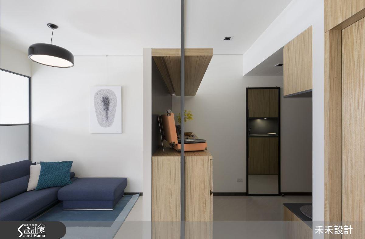 25坪新成屋(5年以下)_現代風客廳案例圖片_禾禾設計_禾禾_12之3