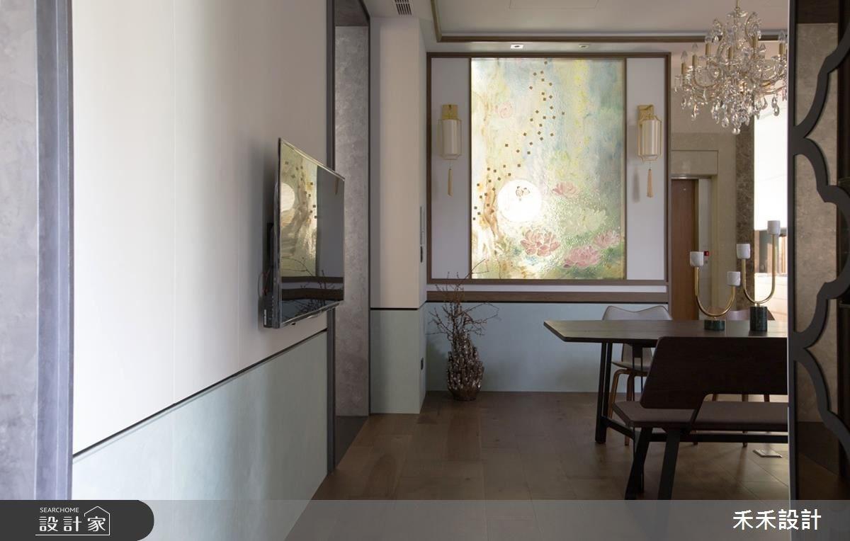 30坪中古屋(5~15年)_新中式風餐廳案例圖片_禾禾設計_禾禾_15之3