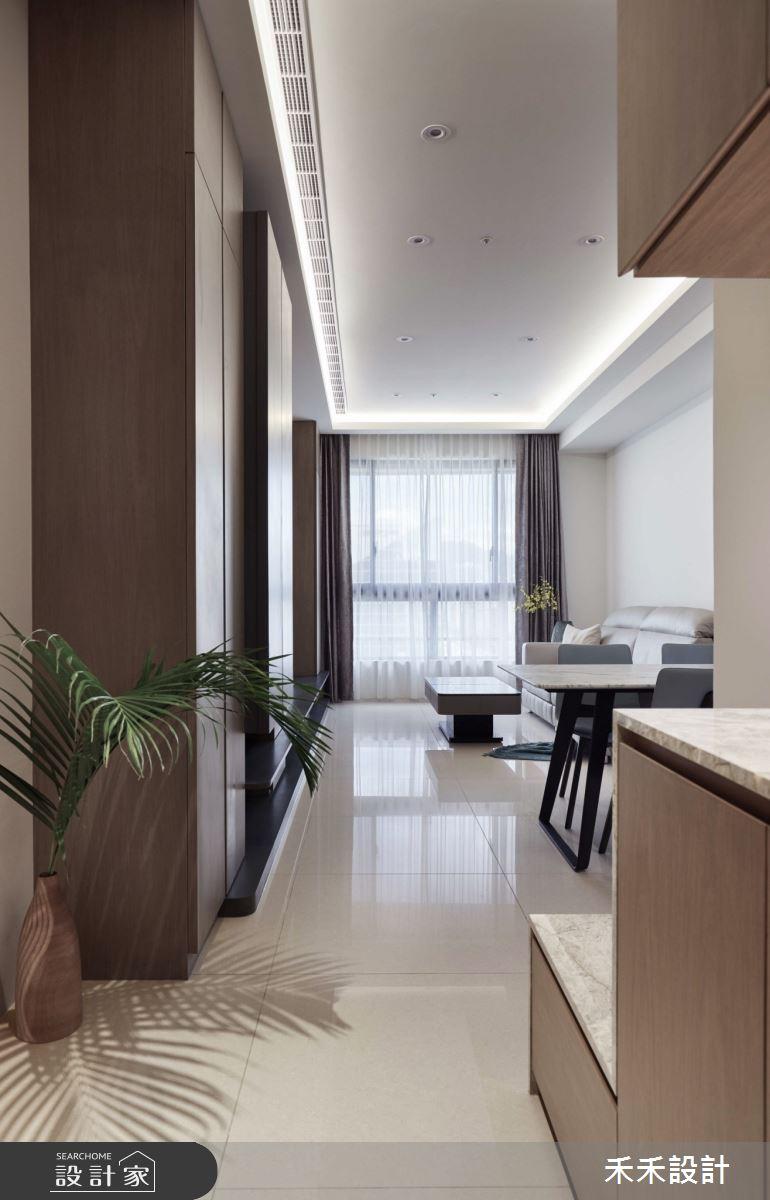 32坪新成屋(5年以下)_現代風玄關客廳案例圖片_禾禾設計_禾禾_19之1