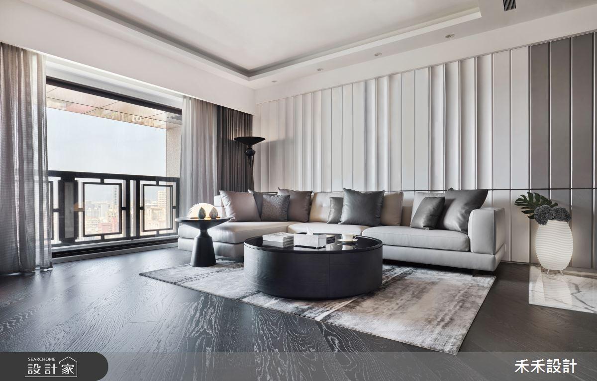 40坪新成屋(5年以下)_現代風客廳案例圖片_禾禾設計_禾禾_20之3