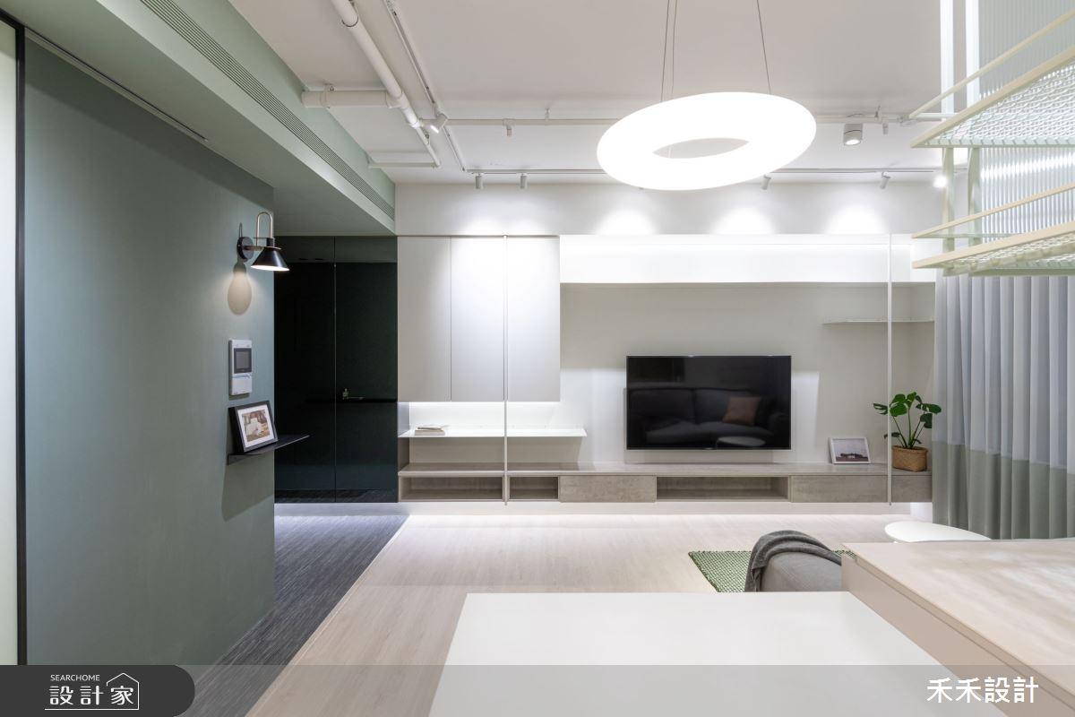 15坪新成屋(5年以下)_現代風客廳案例圖片_禾禾設計_禾禾_21之2