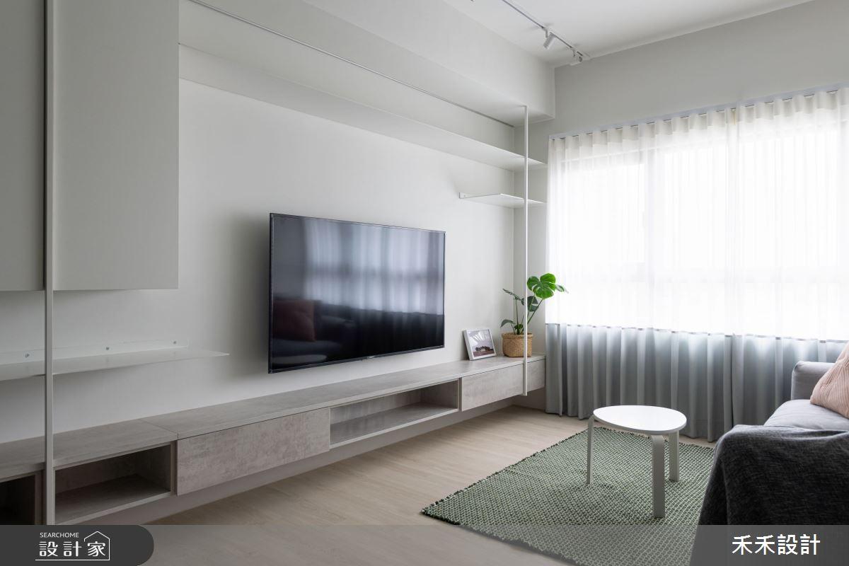 15坪新成屋(5年以下)_現代風客廳案例圖片_禾禾設計_禾禾_21之4