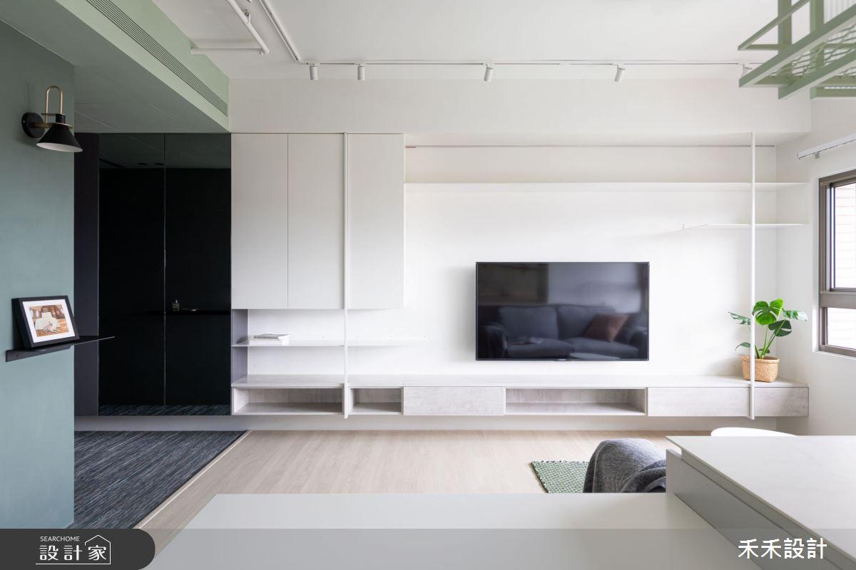 15坪新成屋(5年以下)_現代風客廳案例圖片_禾禾設計_禾禾_21之3