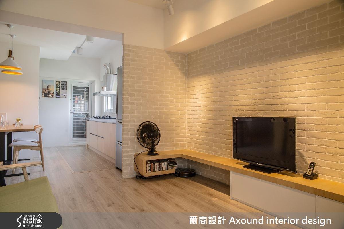 24坪中古屋(5~15年)_北歐風案例圖片_爾商設計 Axound interior design_爾商_02之4