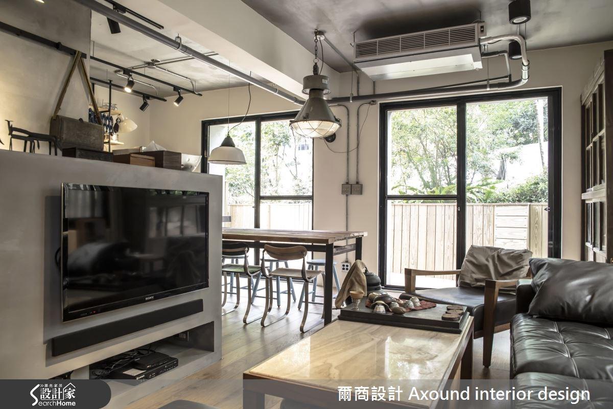 25坪老屋(16~30年)_工業風案例圖片_爾商設計 Axound interior design_爾商_03之4