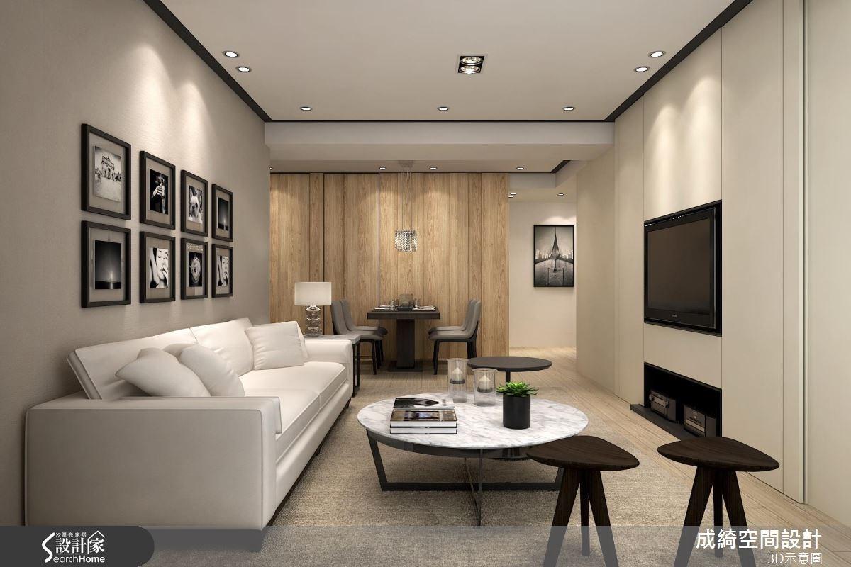 新成屋(5年以下)_現代風案例圖片_成綺空間設計有限公司_成綺_02之1