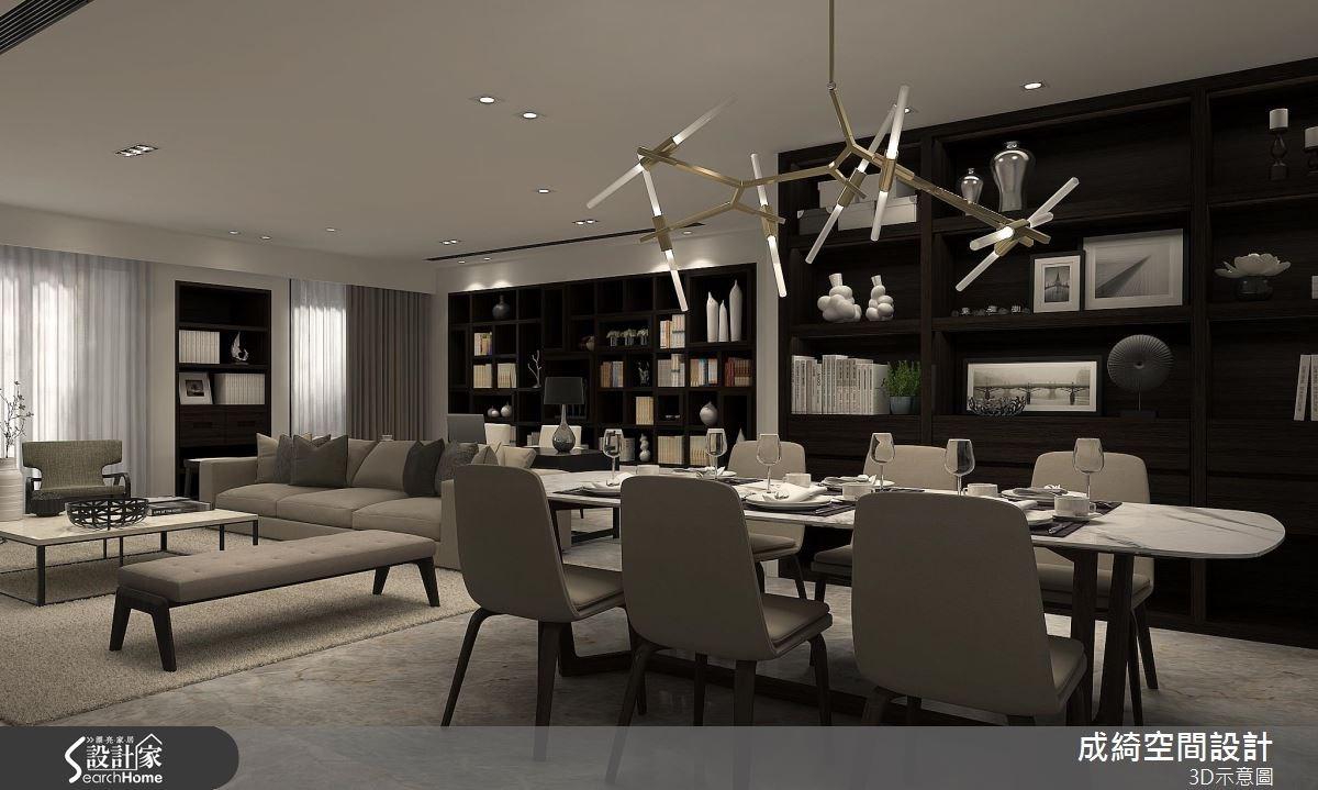 74坪新成屋(5年以下)_現代風案例圖片_成綺空間設計有限公司_成綺_04之1