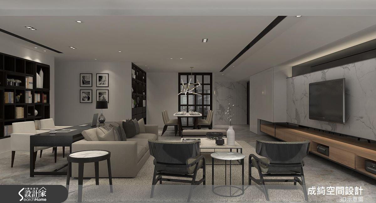 74坪新成屋(5年以下)_現代風案例圖片_成綺空間設計有限公司_成綺_04之2