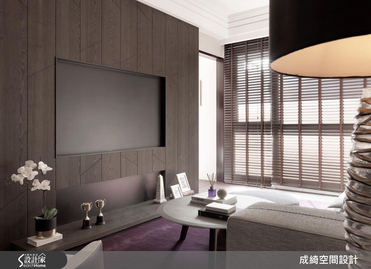 40坪新成屋(5年以下)_現代風客廳案例圖片_成綺空間設計有限公司_成綺_08之2