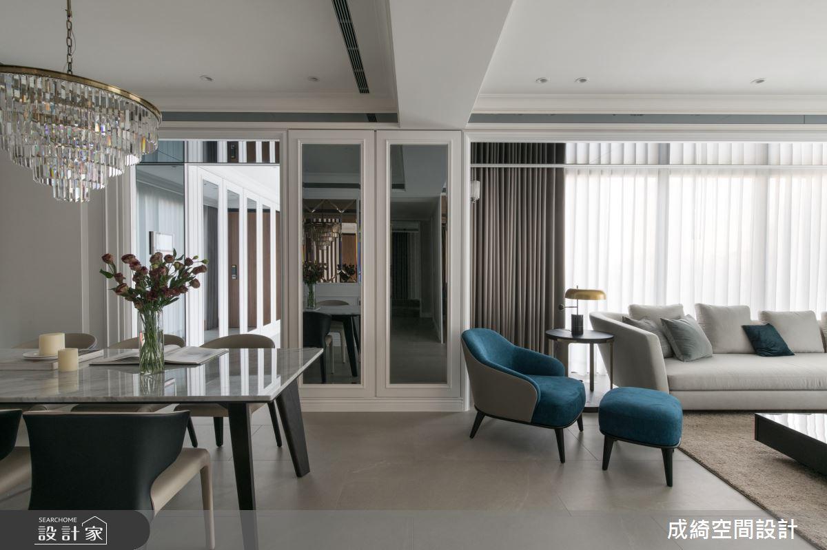 新成屋(5年以下)_奢華風餐廳案例圖片_成綺空間設計有限公司_成綺_14之3