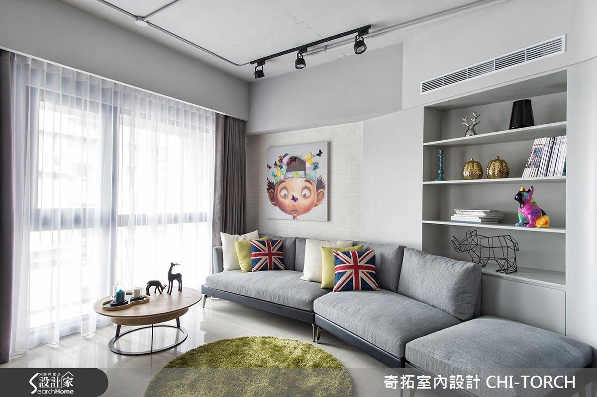36坪新成屋(5年以下)_混搭風案例圖片_奇拓室內設計 CHI-TORCH_奇拓_02之1