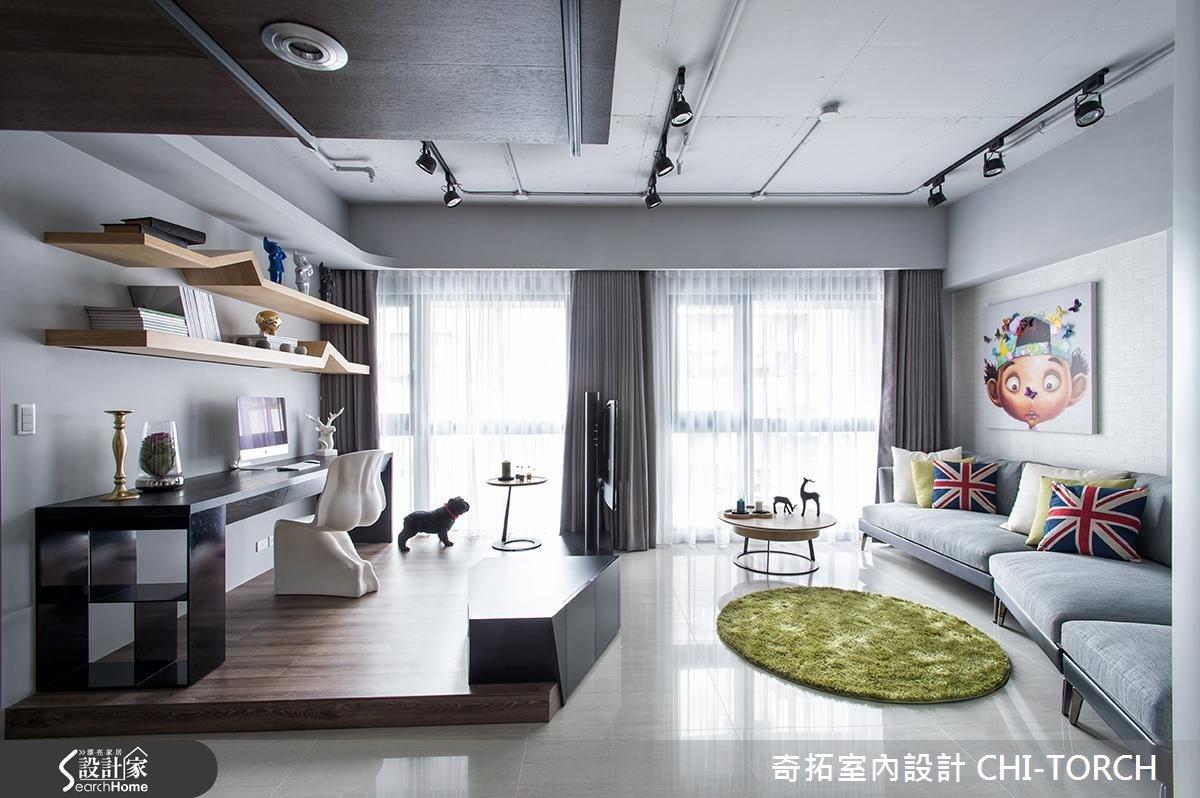 36坪新成屋(5年以下)_混搭風案例圖片_奇拓室內設計 CHI-TORCH_奇拓_02之3