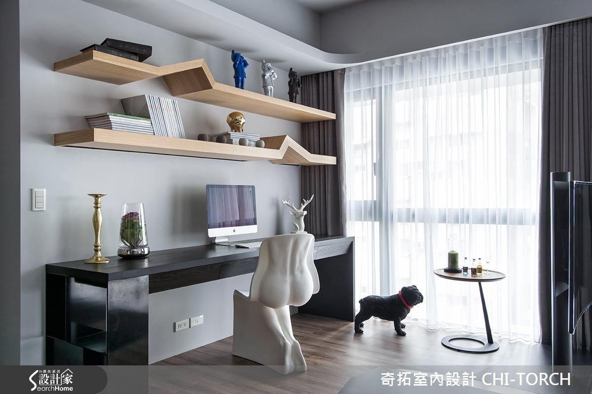 36坪新成屋(5年以下)_混搭風案例圖片_奇拓室內設計 CHI-TORCH_奇拓_02之4